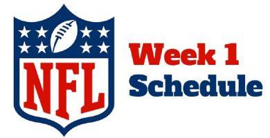 NFL week 1 odds comparison