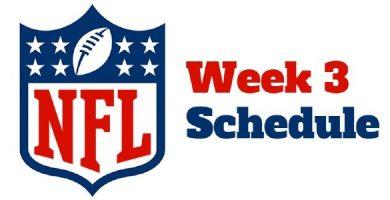 NFL Week 3 Betting Lines