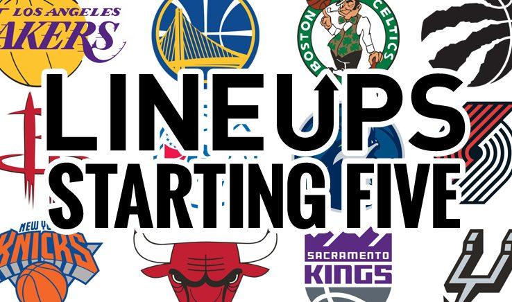 Tracking NBA Starting Lineups